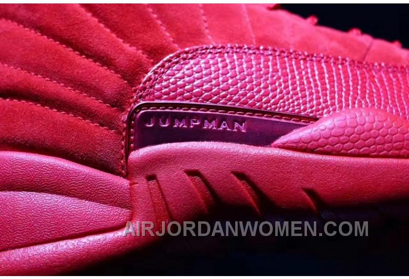Air Jordan 12 Red Suede 41-47.5 Authentic Christmas Deals