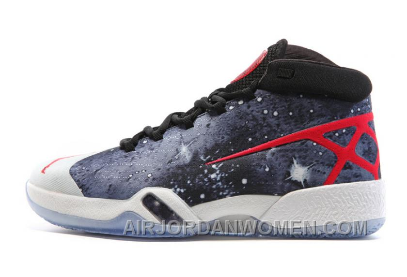 Air Jordan 30 XXX JBC Galaxy Black-Grey-Red 2016 For Sale SPG3S