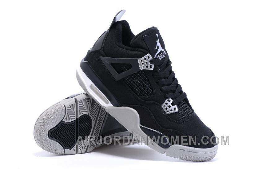Eminem X Carhartt X Air Jordan 4 Canvas In Black Gray White For Sale New