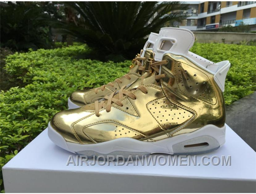 Air Jordan 6 6 Pinnacle Gold Free Shipping NAsTbD
