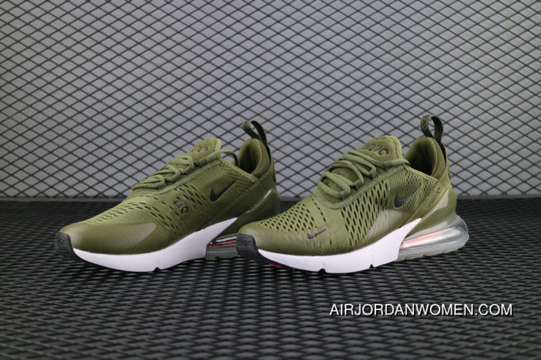 best loved ebc8b e93ff ... order nike air max 270 flyknit navy green vert ah8050 201 running shoes  new style d06c9