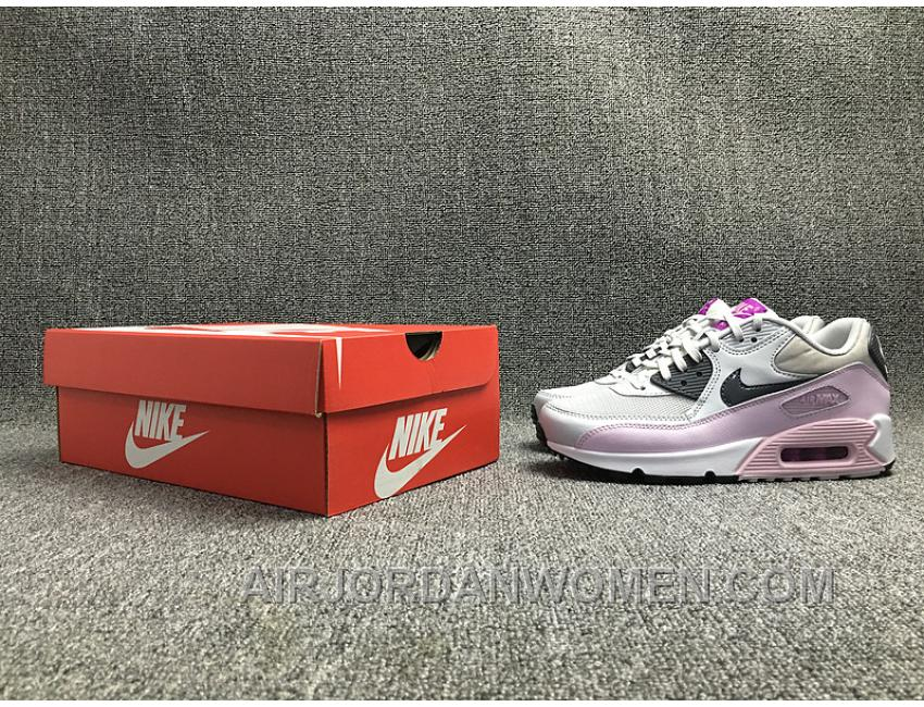 AIR MAX 90 616730-112 Nike Max Women White Pink Cheap To Buy BnzXHfT