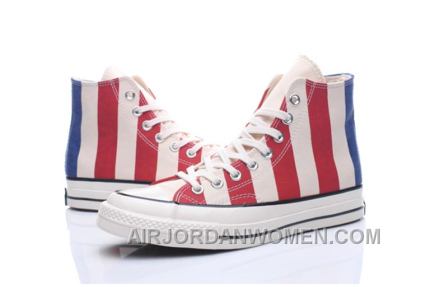 Converse 2017 Chuk Taylor All Star 1970s 1970S 153850C Women/men American Flag Authentic DMFdBc