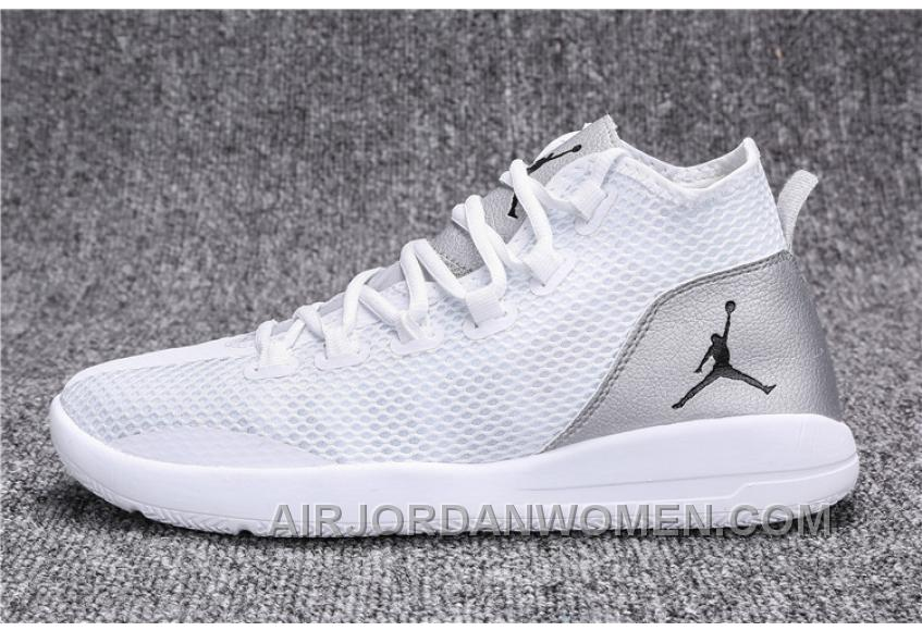 Jordan Reveal Womens Mens Silver White Top Deals RdryR