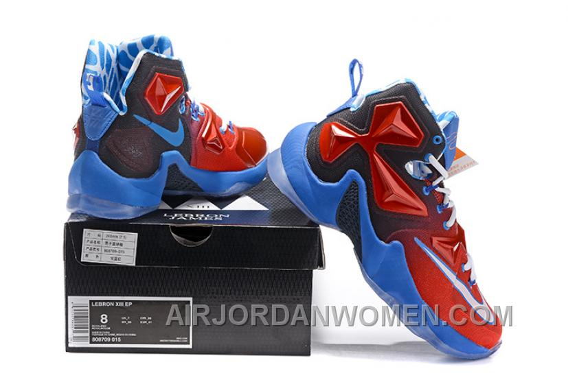Nike LEBRON JAMES 13 CAPATIN AMERICA Discount TySQ2