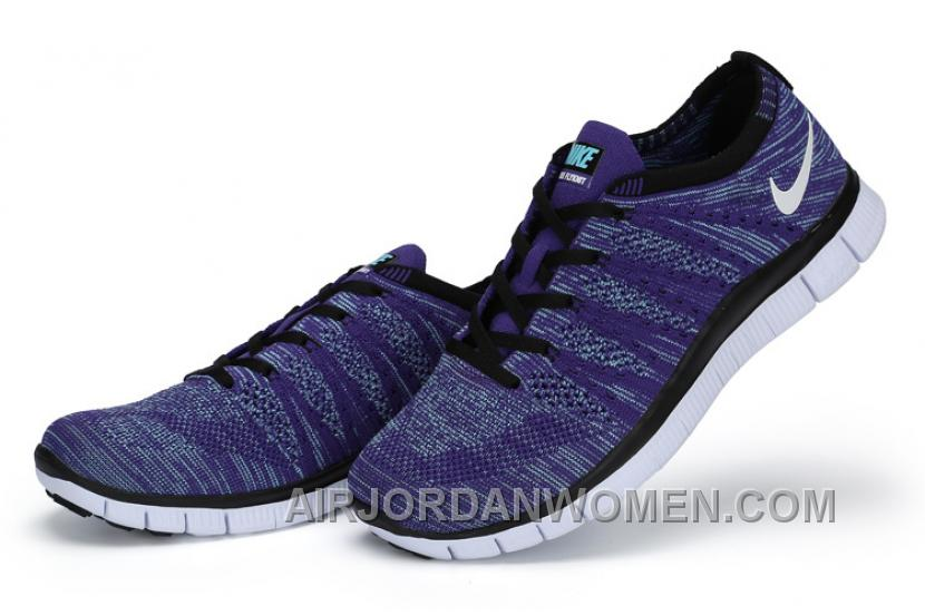 NIKE 5.0 599459-500 Flyknit Purple White Blue Best G2nMWph