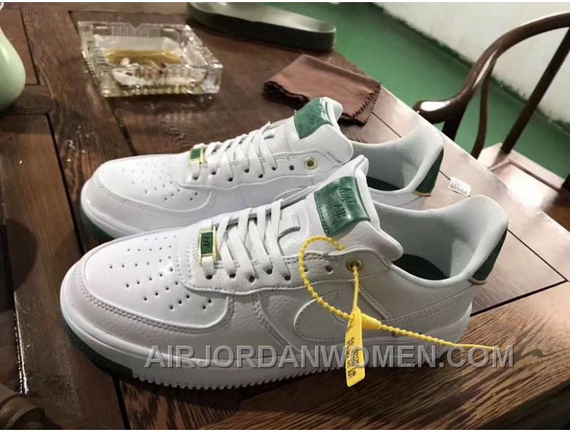 Nike Air Force 1 AF1 Jade 919521-100 919896-100 White Jade Metallic Women Men Copuon Code JXeKecC