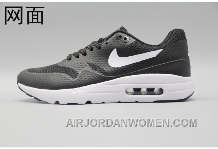 new concept 7c7a2 4e833 Nike Air Max 1 Ultra Flyknit 87 Oreo Black White Men Women Cheap To Buy  NbYAkP, Price: $88.60 - Air Jordan Women Shoes - Women's Air Jordan Shoes  ...