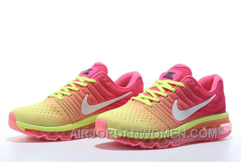 Authentic Nike Air Max 2017 Pink Volt White Best WGpyGw