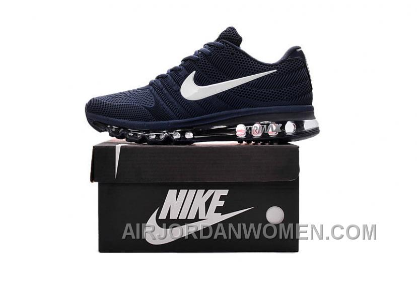 Authentic Nike Air Max 2017 KPU Navy White Online XBRWANQ