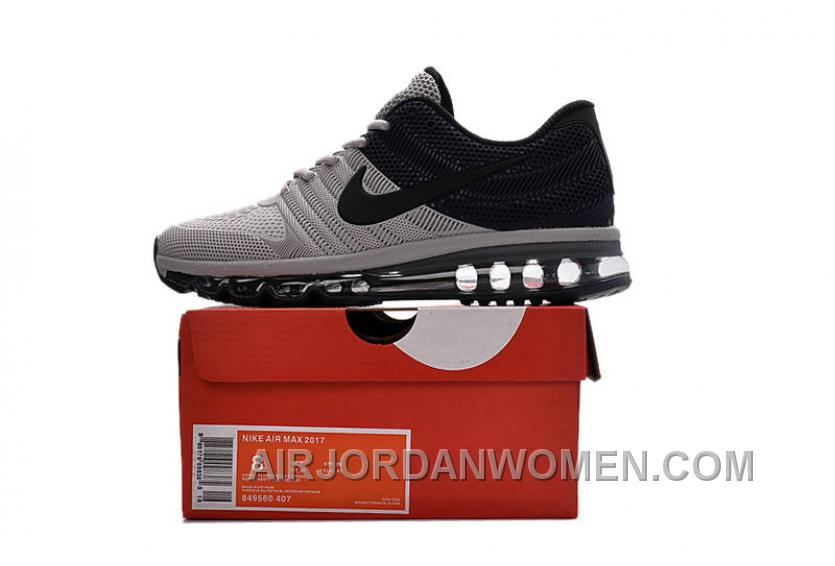 Authentic Nike Air Max 2017 KPU Grey Navy Copuon Code Wtamp