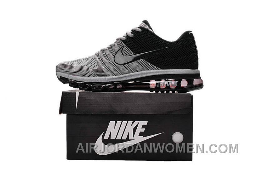Authentic Nike Air Max 2017 KPU Grey Black Top Deals KXhQs