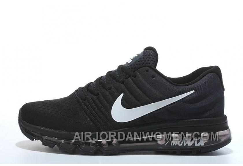 Authentic Nike Air Max 2017 Black Silver Cheap To Buy R66pMy