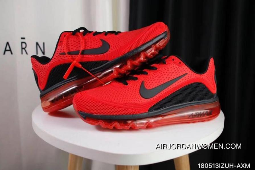 a848d100a79 Nike Air Max 2017.5 40-47 Men Red Black Outlet