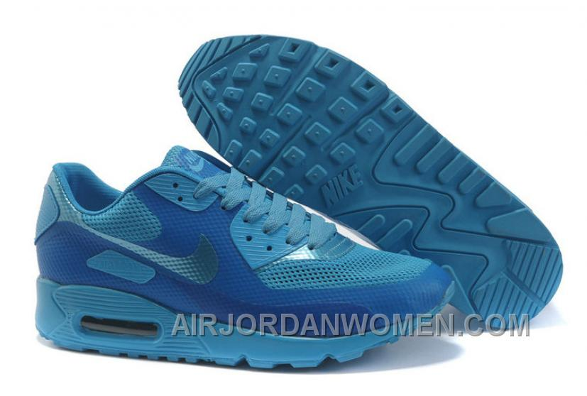 Nike Air Max 90 Hyperfuse Womens Deepblue Blue Cheap To Buy ZkNTA