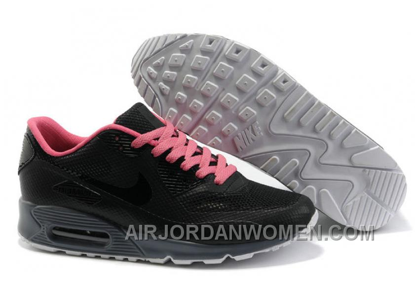 Nike Air Max 90 Hyperfuse Womens Rose Black Top Deals 8m5ty