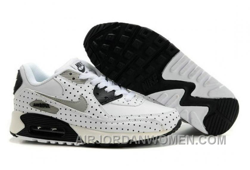 Nike Air Max 90 Womens Black White Point For Sale M6Zjn