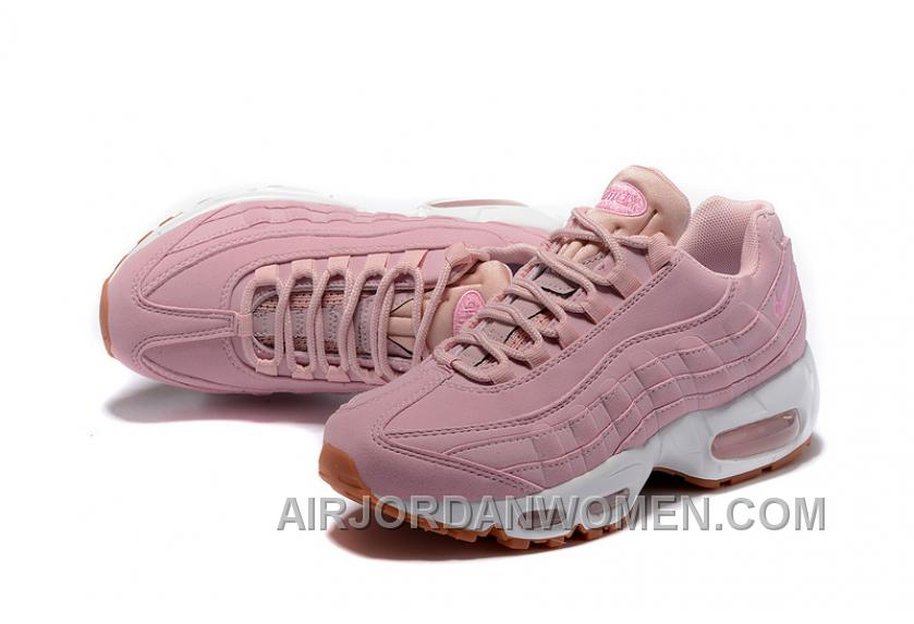 check out 038b0 5834f Nike Air Max 95 2017 Spring Pink Women New Release BMzfw