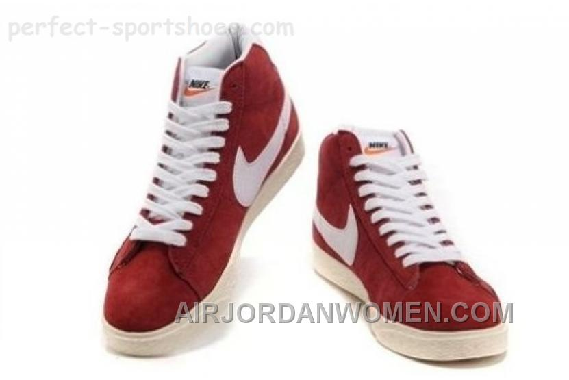 Nike Blazer Womens Shoes For Sale POopular Brown White Cheap