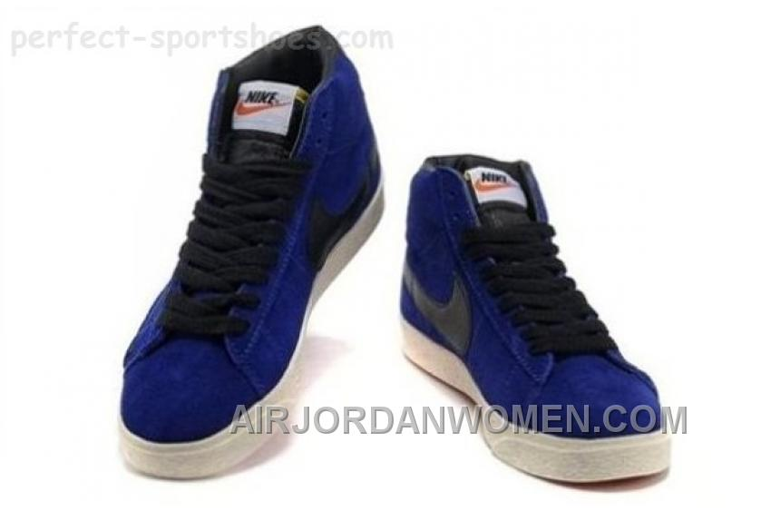 Nike Blazer Womens Shoes For Sale POopular Blue White Cheap
