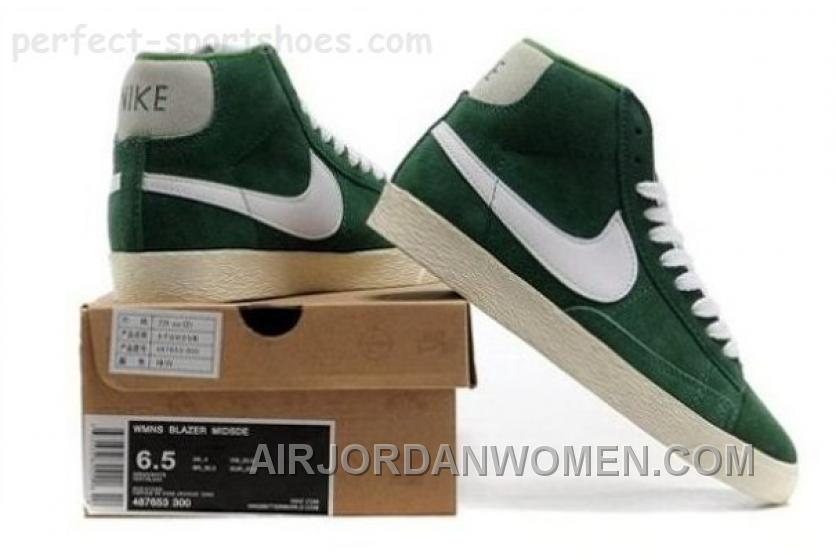 Hot Cheap Popular Nike Blazer Womens Shoes For Sale POopular Green White