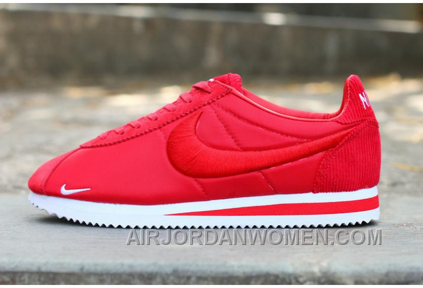 Nike Classic Cortez X LIBERTY Red Authentic Pa5kh