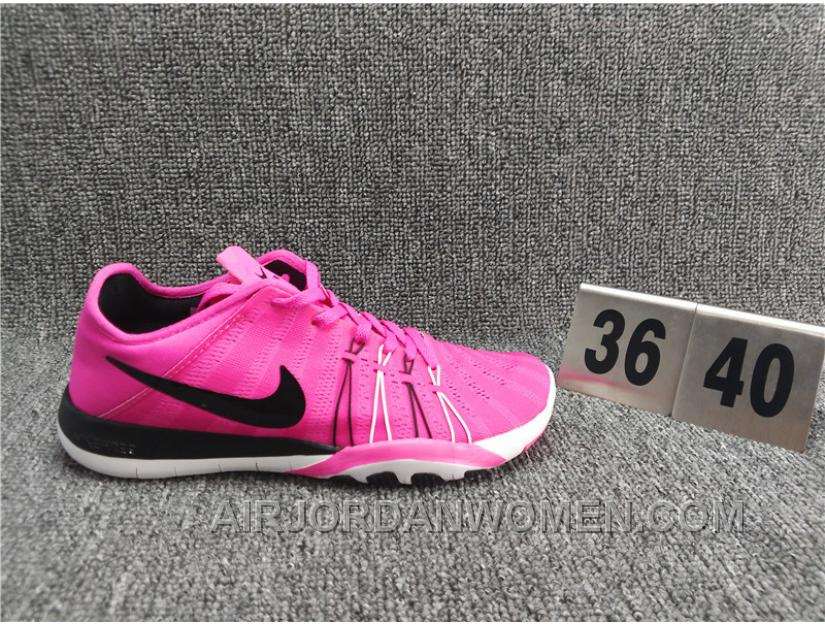NIKE FREE TR6 3D Print Jacquard Women Pink Breathable Shoes Authentic