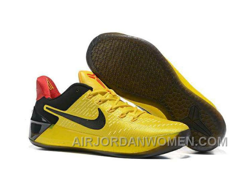 Cheap Nike Kobe A.D. 12 Yellow Black Red For Sale CwBtSY