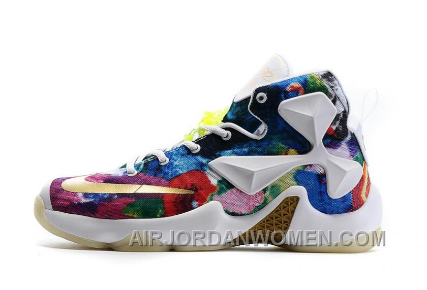 Nike LeBron 13 Grade School Shoes 25k Star Color Discount MXzzd