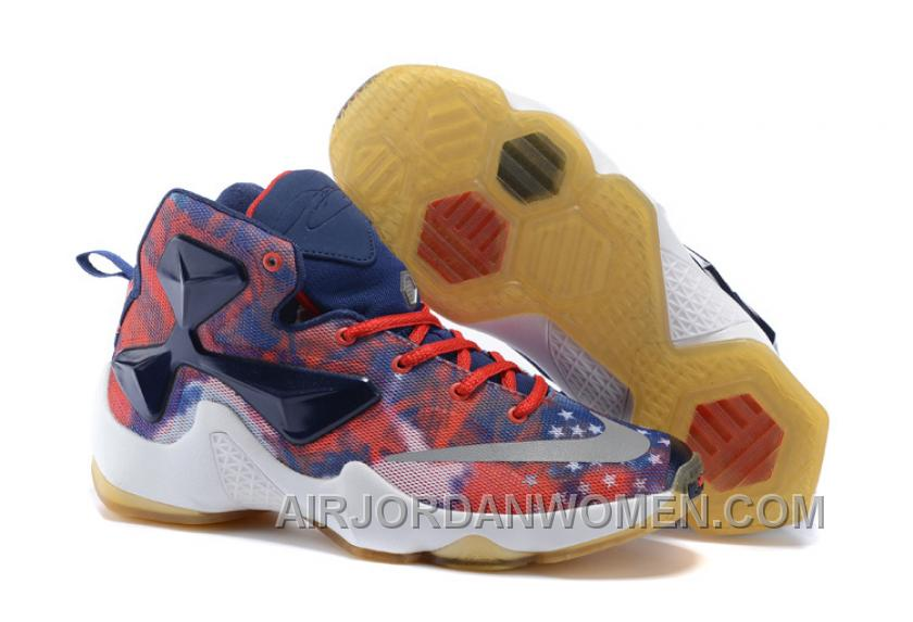 Nike LeBron 13 Grade School Shoes American Star Discount XxEdrs