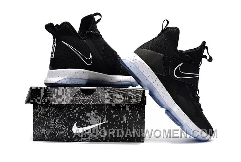Nike LeBron 14 SBR Black White Top Deals