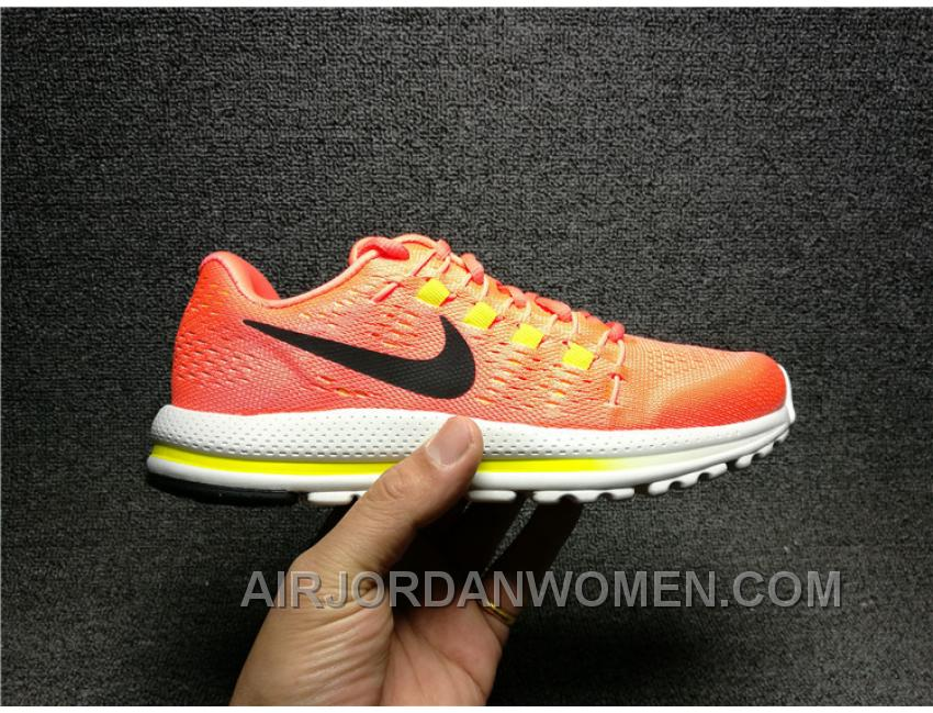2017 1:1 ZOOM VOMERO 12 863766-600 Women Running Sneaker Free Shipping Hs287BB