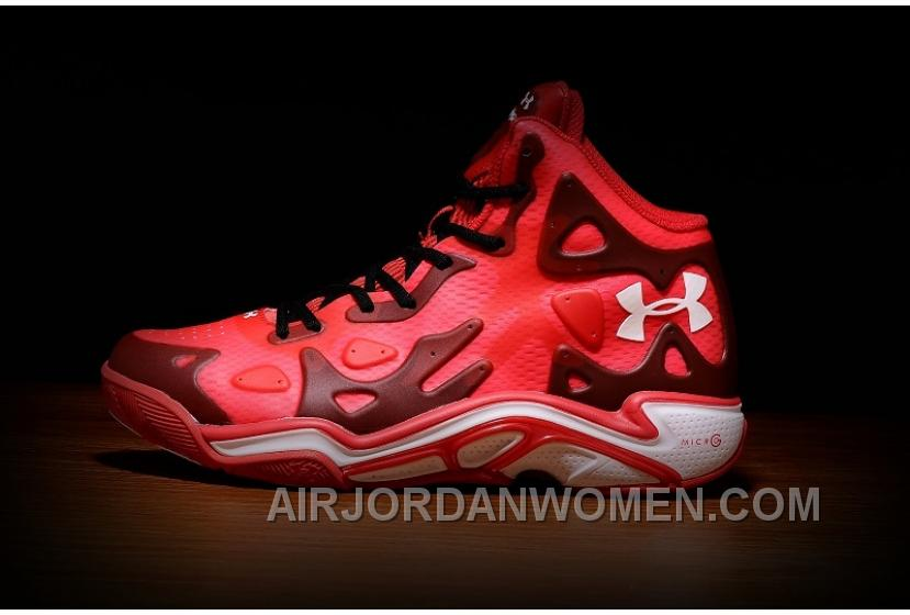 Under Armour Micro G Anatomix Spawn 2 New Red Basketball Shoes Online CnKsi