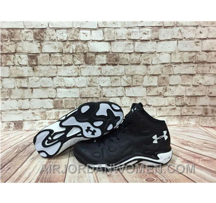 Under Armour Anatomix Spawn 2 Black White Sneaker For Sale 8HdTY