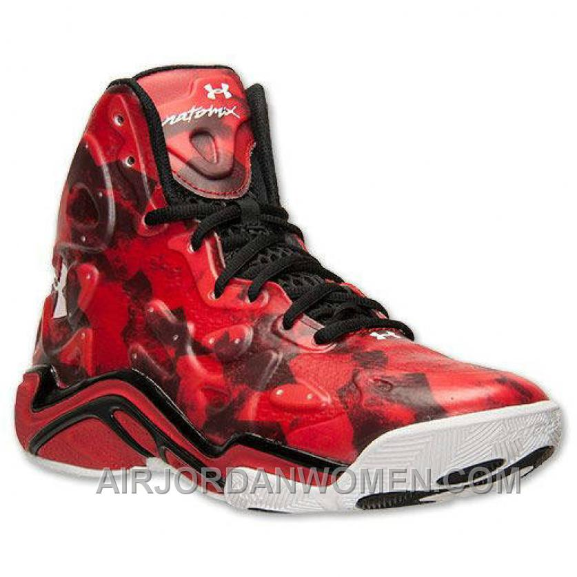 Authentic Under Armour Micro G Anatomix Spawn 2 Red Black Top Deals BbYhtSY