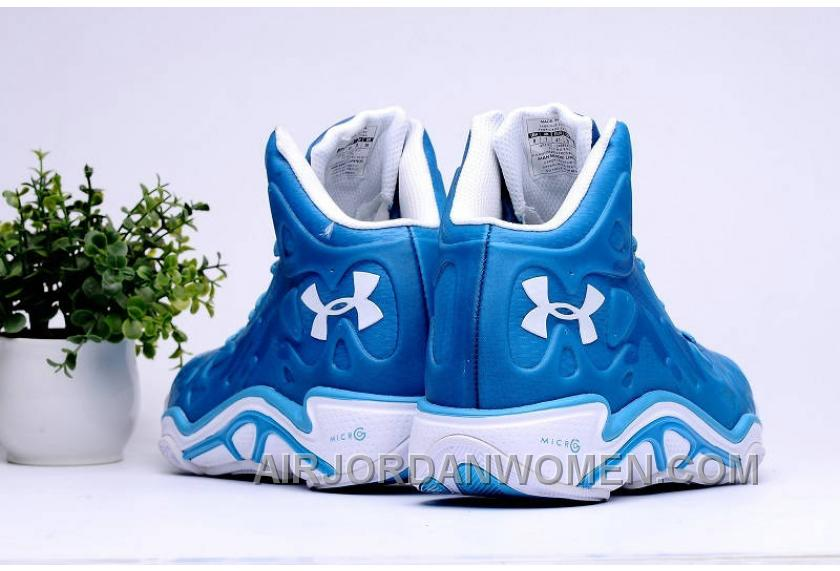 Authentic Under Armour Micro G Anatomix Spawn 2 Royal Blue White Free Shipping 5FzEE