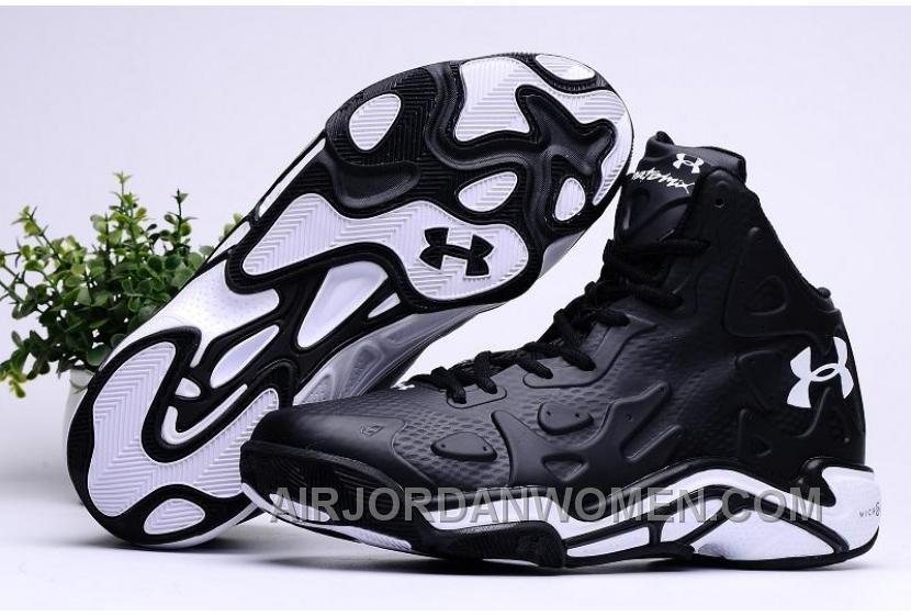 2016 Under Armour Micro G Anatomix Spawn 2 Mens Shoes Black White Sneakers New Release XAnaKj