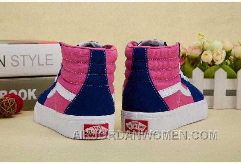 Vans Kids Navy Black Pink Shoes Super Deals XNsmX