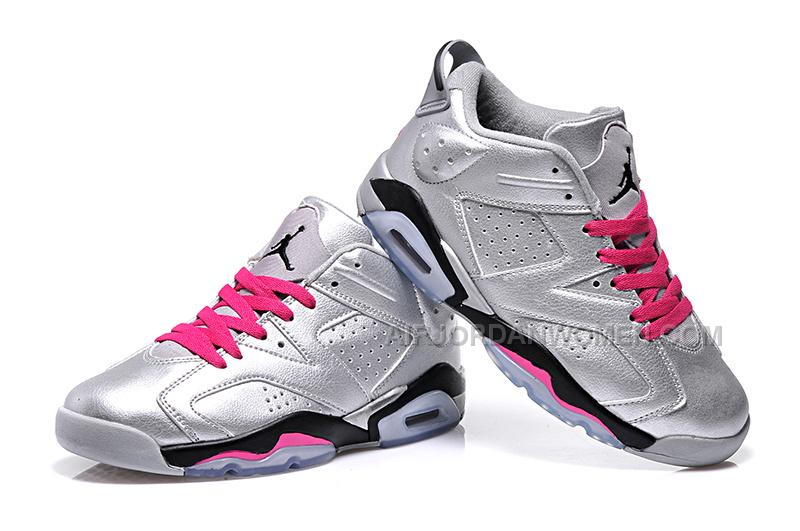 "2015 Air Jordan 6 Low GS ""Valentines Day"" Cheap For Sale Online"