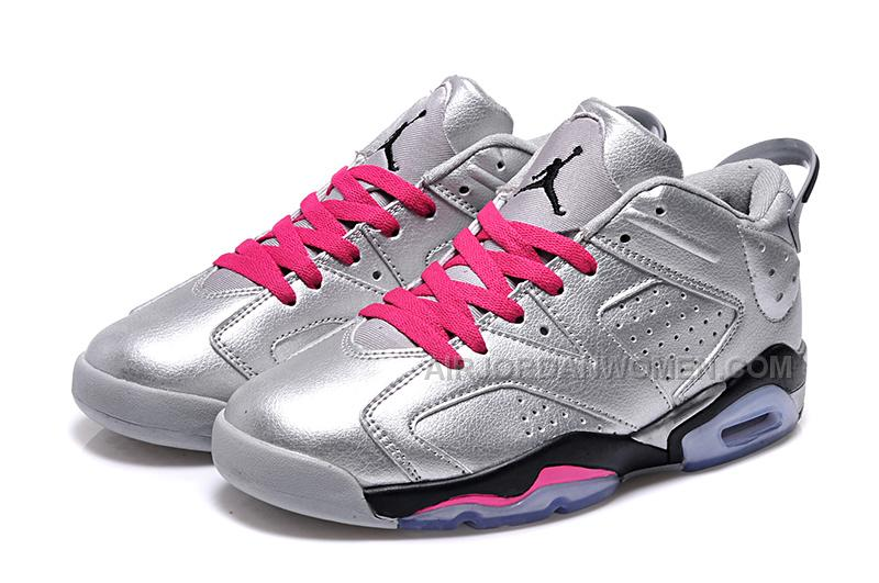Girls Air Jordan 6 Low Valentines Day Shoes For Sale Online