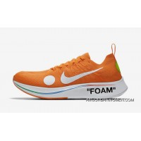 Off-White X Nike Zoom Fly Mercurial Flyknit OW AO2115-800 Orange 2018 Russia FIFA World Cup Online