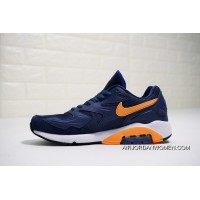 Nike Air Max 180 OG 2104042-047 2018 Russia FIFA World Cup Sweden NAVY BLUE ORANGE Online