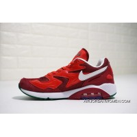 Nike Air Max 180 OG 2104042-603 2018 Russia FIFA World Cup Portuguesa BURGUNDY RED Super Deals