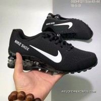 Nike AIR SHOX FLYKNIT Zoom Running Shoes BLACK WHITE SWOOSH 2018 Russia FIFA World Cup Online