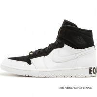 Air Jordan 1 Equality Aj1 BHM Black And White AQ7474-001 Discount