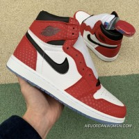 Pure Aj1 Spider-Man Air Jordan 1 Origin Story Spider-Man 575441-555088-602 Size Online
