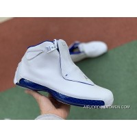 Aj18 White Blue Air Jordan 18 OG Asg Aj18 Sport Royal All Star White Blue Retro AA2494-106 Size Super Deals