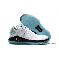 Jordan 32 Low Super High Quality White Blue New Release