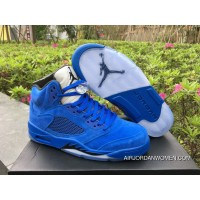 For Sale New Air Jordan 5 Game Royal/Black
