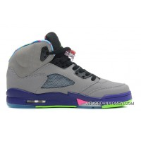 Air Jordans 5 Retro Bel-Air Cool Grey/Club Pink-Court Purple-Game Royal Top Deals